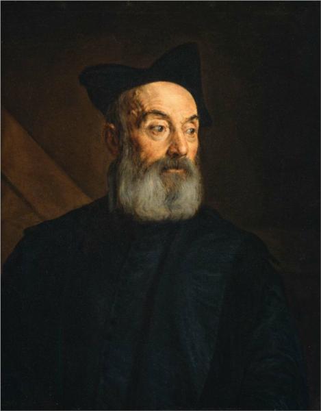 Portrait of a Man, 1576 - Jacopo Bassano