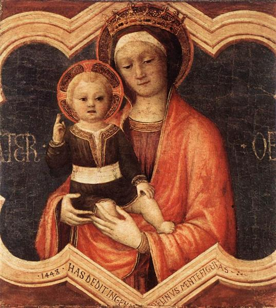 Madonna and Child, 1448 - Jacopo Bellini