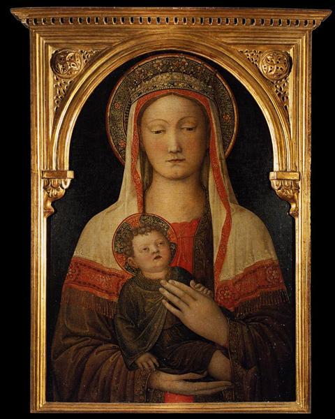 Madonna and Child, 1450 - Jacopo Bellini