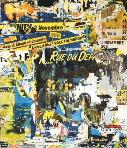 Gaîté-Montparnasse, 1987 - Jacques Villeglé