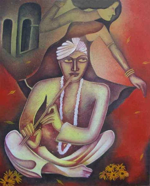 Flautist, 2008 - Jahar Dasgupta