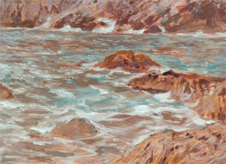 Capri, Seascape - James Charles