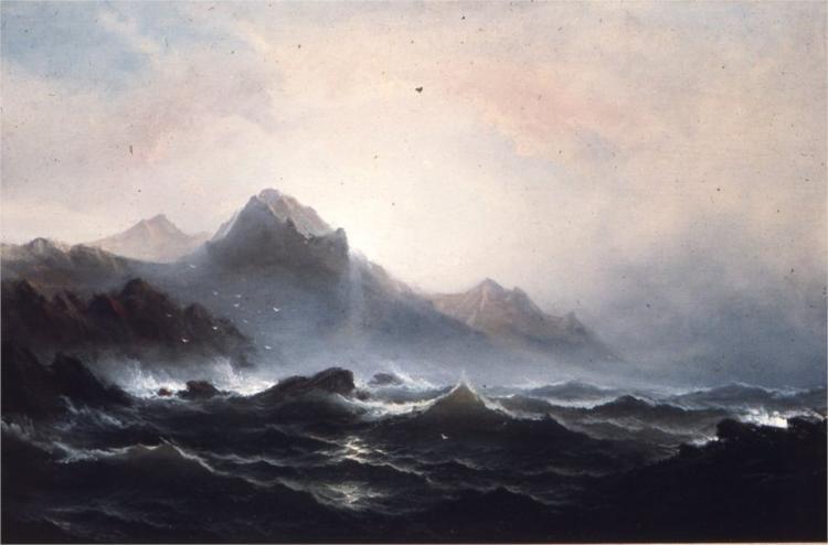Seascape, 1865 - James Hamilton