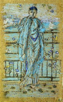 Morning Glories - James McNeill Whistler