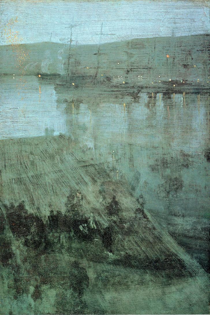 Картинки по запросу nocturne in blue and gold valparaiso bay