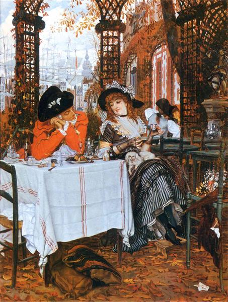 A Luncheon, 1868 - James Tissot
