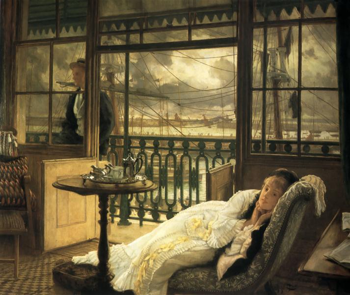 A Passing Storm, 1876 - James Tissot