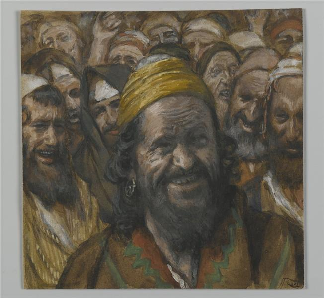 Barrabbas, illustration from 'The Life of Our Lord Jesus Christ', 1886 - 1894 - James Tissot