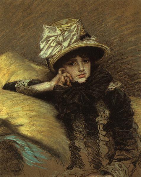 Berthe, 1882 - James Tissot