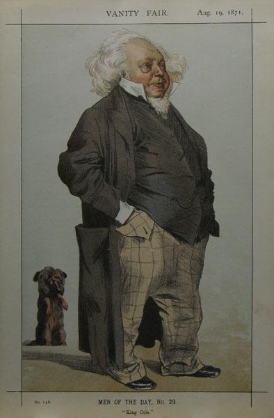 Caricature of Henry Cole, 1871 - James Tissot