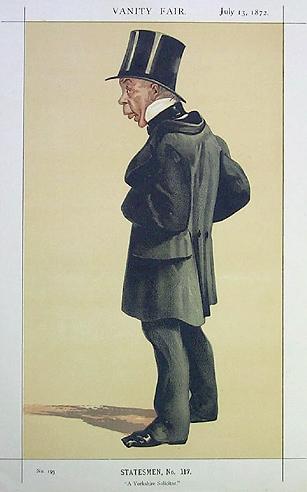 Caricature of Mr George Leeman M.P., 1872 - James Tissot