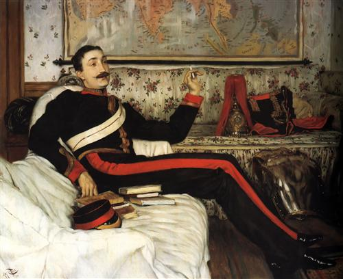 Colonel Frederick Gustavus Barnaby - James Tissot