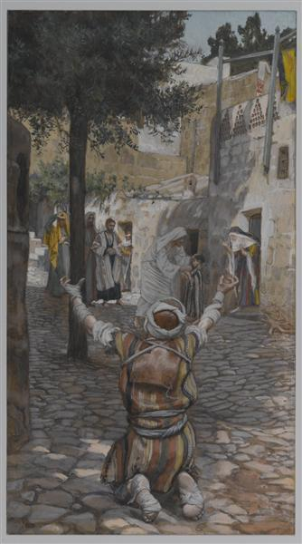Healing of the Lepers at Capernaum, 1886 - 1894 - James Tissot