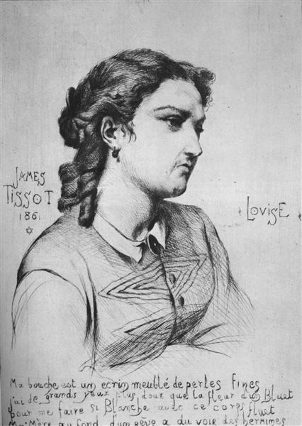 Louise, 1861 - James Tissot