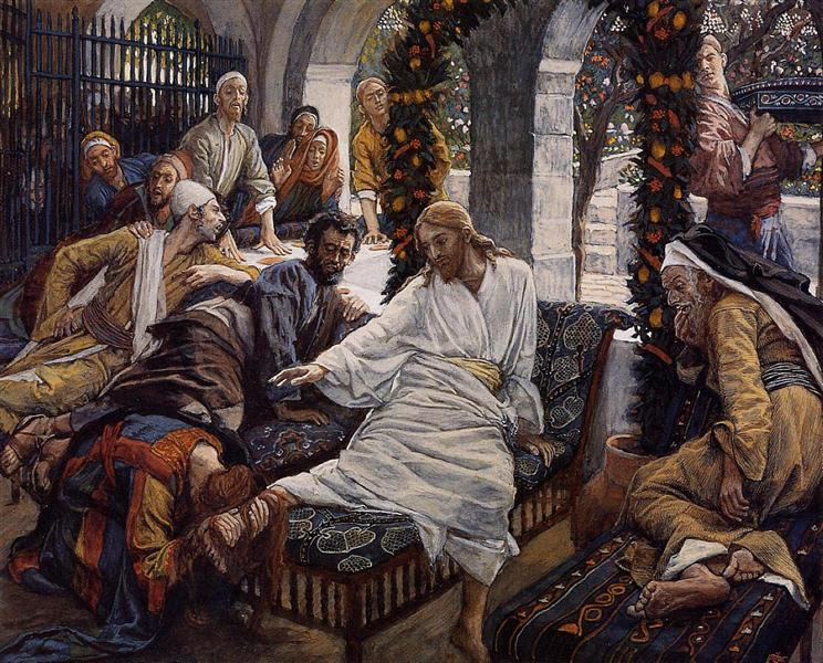 Mary Magdalene`s Box of Very Precious Ointment, 1886 - 1894 - James Tissot