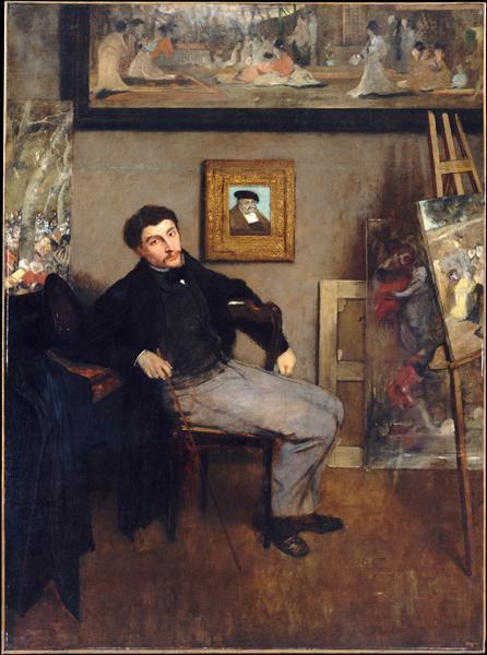Portrait of James Tissot - James Tissot