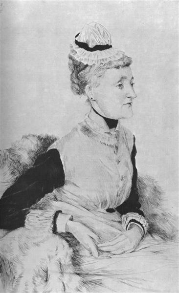 Portrait of M. B., 1876 - James Tissot