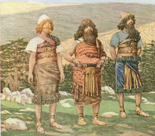 Shem, Ham and Japheth, c.1896 - c.1902 - James Tissot