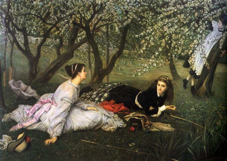 Spring, 1865 - Джеймс Тіссо