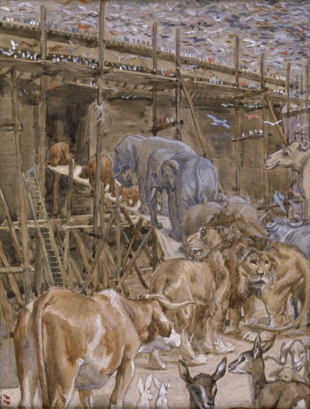 The Animals Enter the Ark, c.1896 - c.1902 - James Tissot