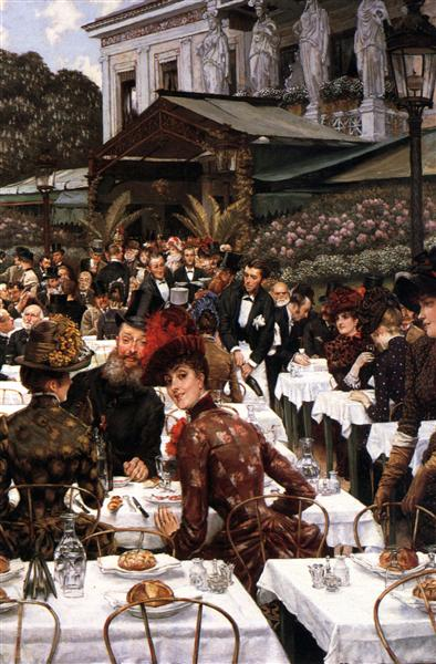 The Artist's Ladies, 1883 - 1885 - James Tissot