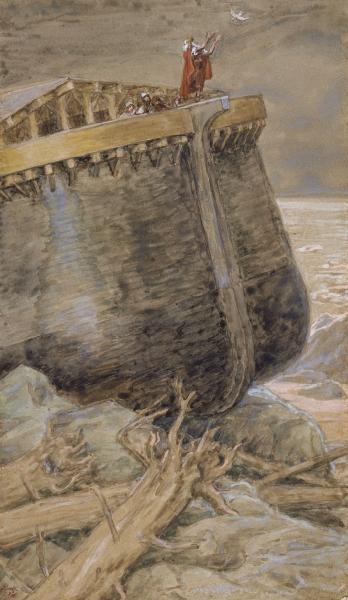 The Dove Returns to Noah, c.1896 - c.1902 - James Tissot