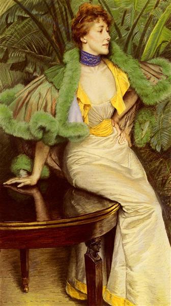 The Princesse De Broglie - James Tissot