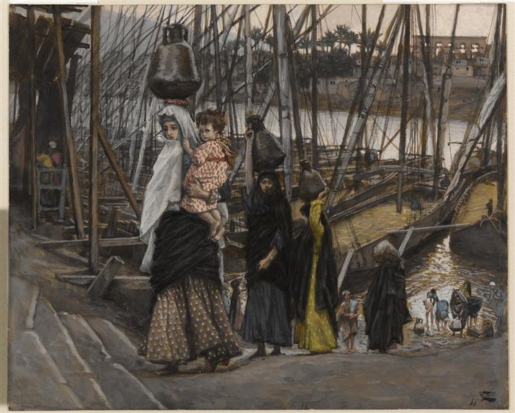 The Sojourn in Egypt - James Tissot