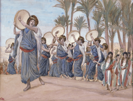 The Songs of Joy, c.1896 - c.1902 - James Tissot
