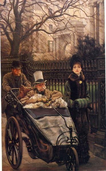 The Warrior's Daughter, or The Convalescent, c.1878 - James Tissot