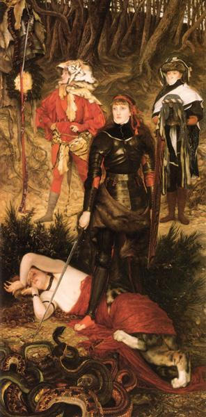 Triumph of the Will the Challenge - James Tissot