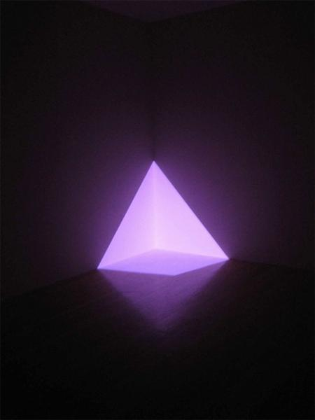 Alta Pink (Corner Projection), 1968 - James Turrell