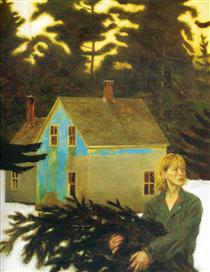 Black Spruce - Jamie Wyeth