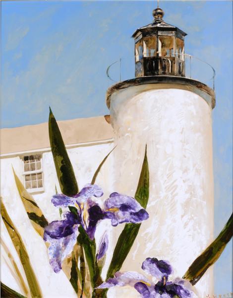 Iris at Sea, 1994 - Jamie Wyeth