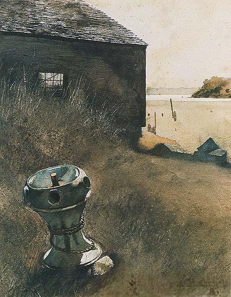 The capstan, 1963 - Jamie Wyeth