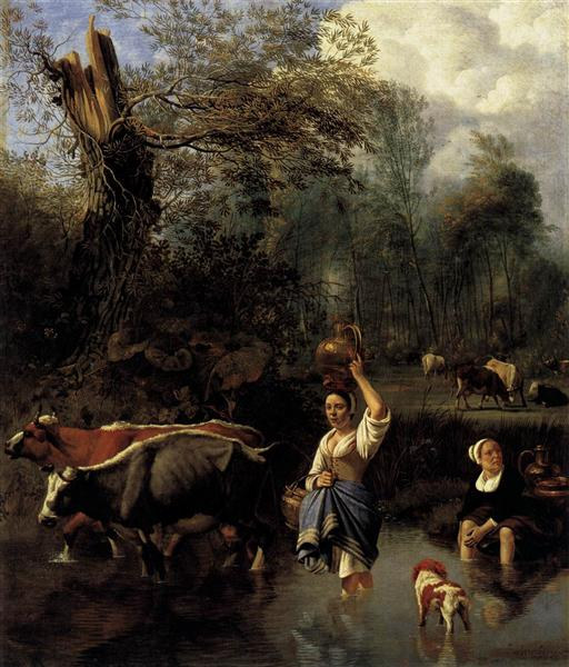 The Ford, 1670 - Jan Siberechts