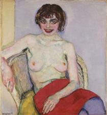 Seated Nude - Jan Sluyters