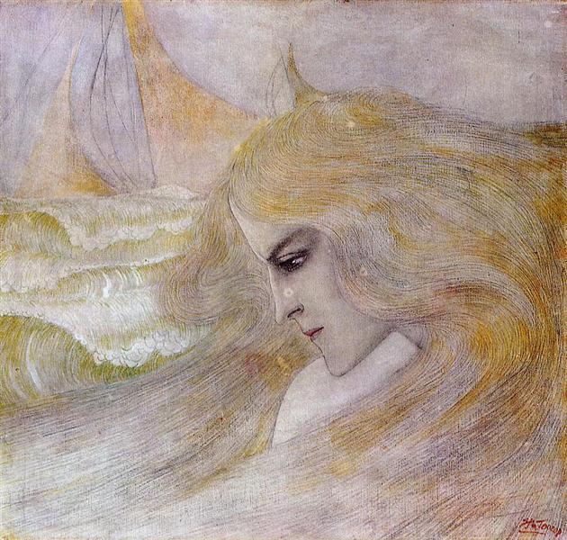 Oceanide, c.1893 - Jan Toorop