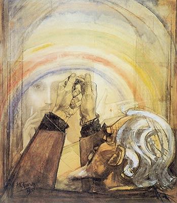 Self-Portrait, 1927 - Jan Toorop