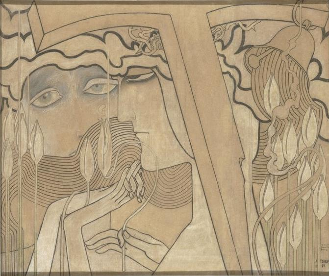 The Desire and the Satisfaction, 1893 - Jan Toorop
