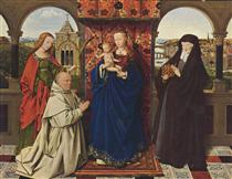 Virgin and Child with Saints and Donor - Jan van Eyck