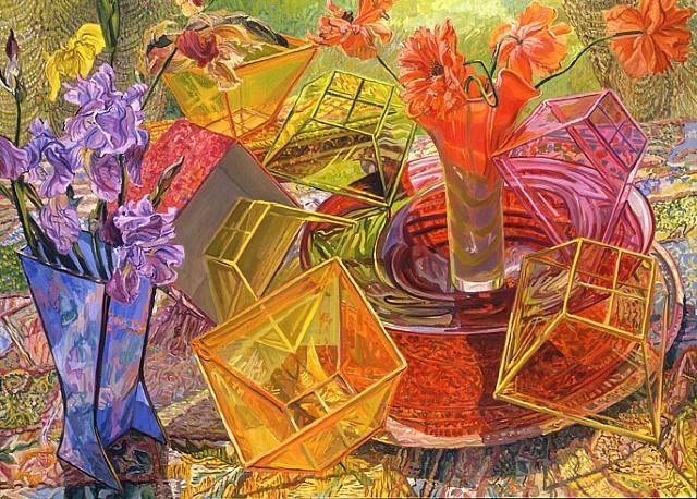 Plastic Boxes, 2007 - Janet Fish