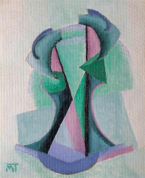 Composition, 1924 - Janos Mattis-Teutsch