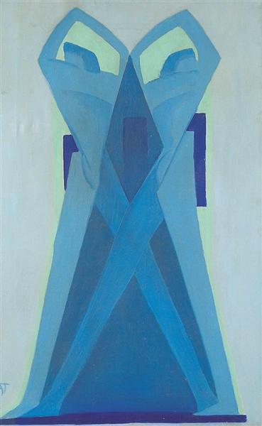 Composition, 1927 - Janos Mattis-Teutsch