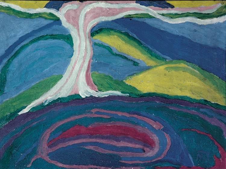 Lonely Tree, 1917 - Янош Маттіс-Теуч