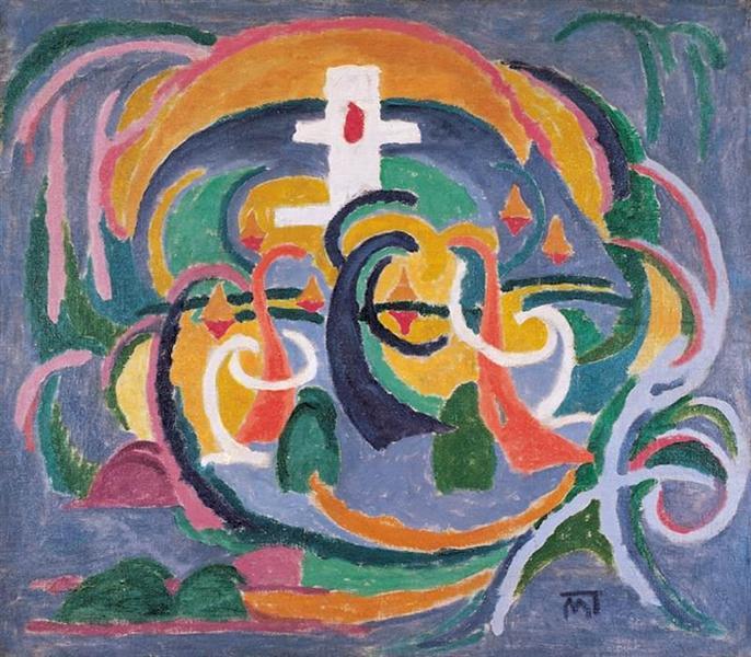 White Cross, 1918 - Janos Mattis-Teutsch