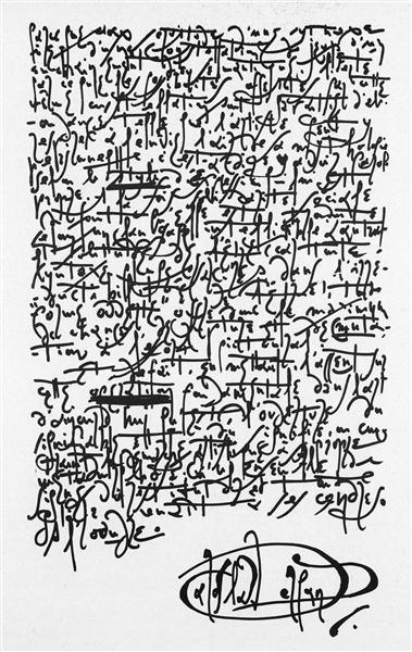 Calligraphie - Jaroslav Serpan