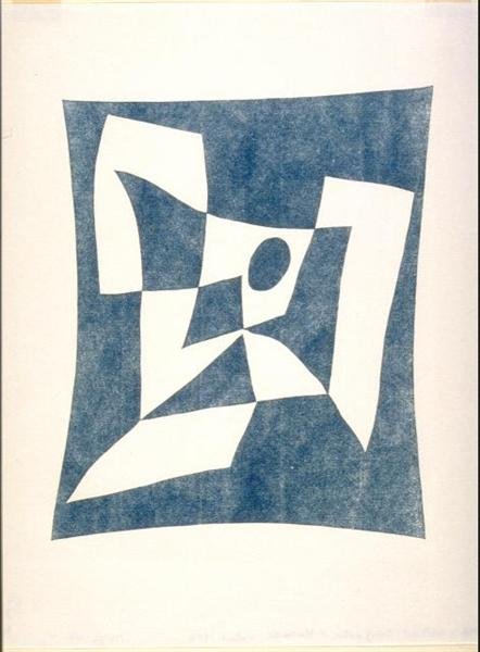 Abstract Composition, Knossos - Jean Arp
