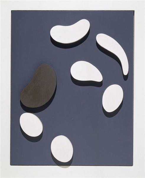 Untitled, 1953 - Jean Arp