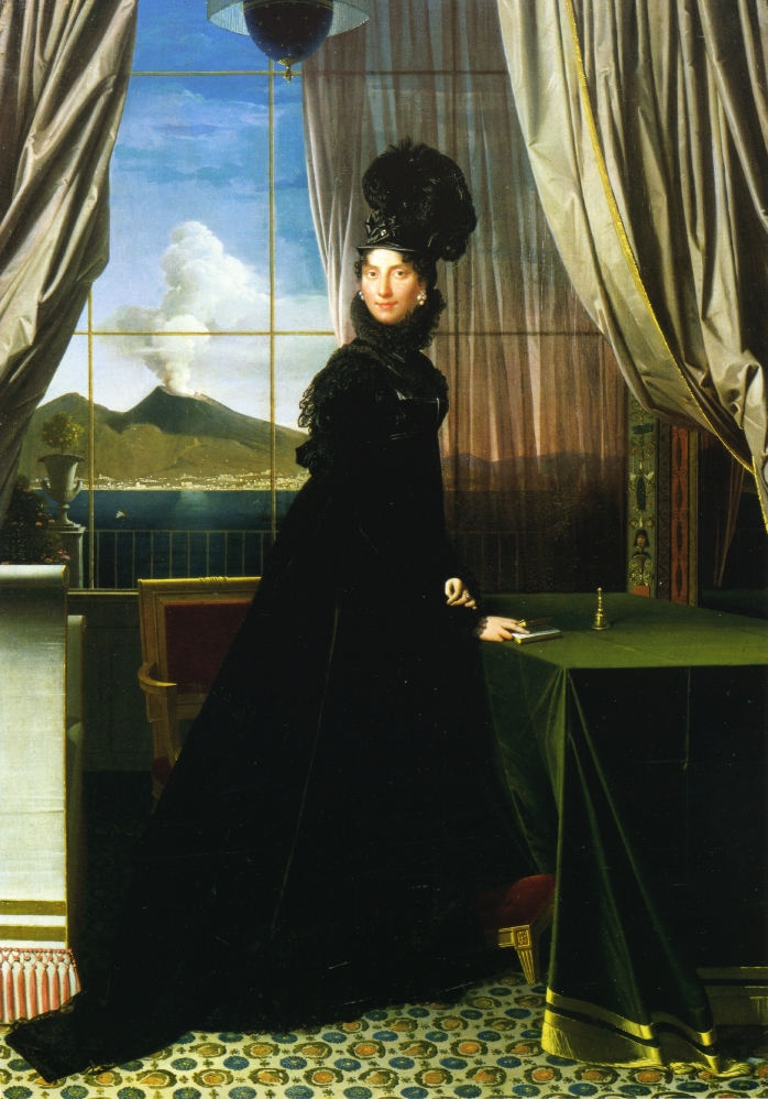 Caroline Murat, Queen of Naples, 1814